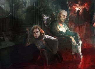 Remothered Tormented Farthers Concept Art Titel
