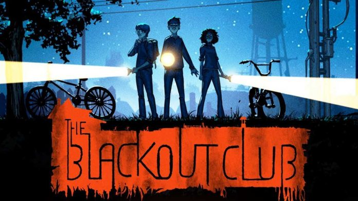 The Blackout Club Titelbild Cover Artwork Logo