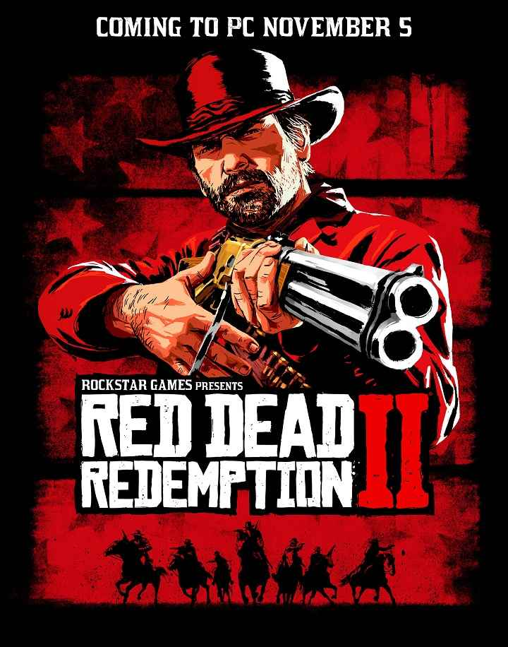 Red Dead Redemption 2 PC Release Coverart
