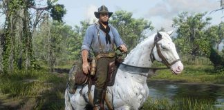 Red Dead Redemption 2 horse rider screenshot titelbild