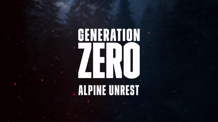 generation zero alpine unrest header