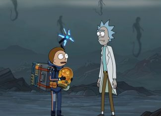 rick and morty death stranding