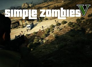 gta 5 simple zombies mod header