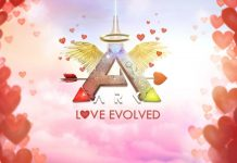 ark survival evolved valentinstag event love evolved