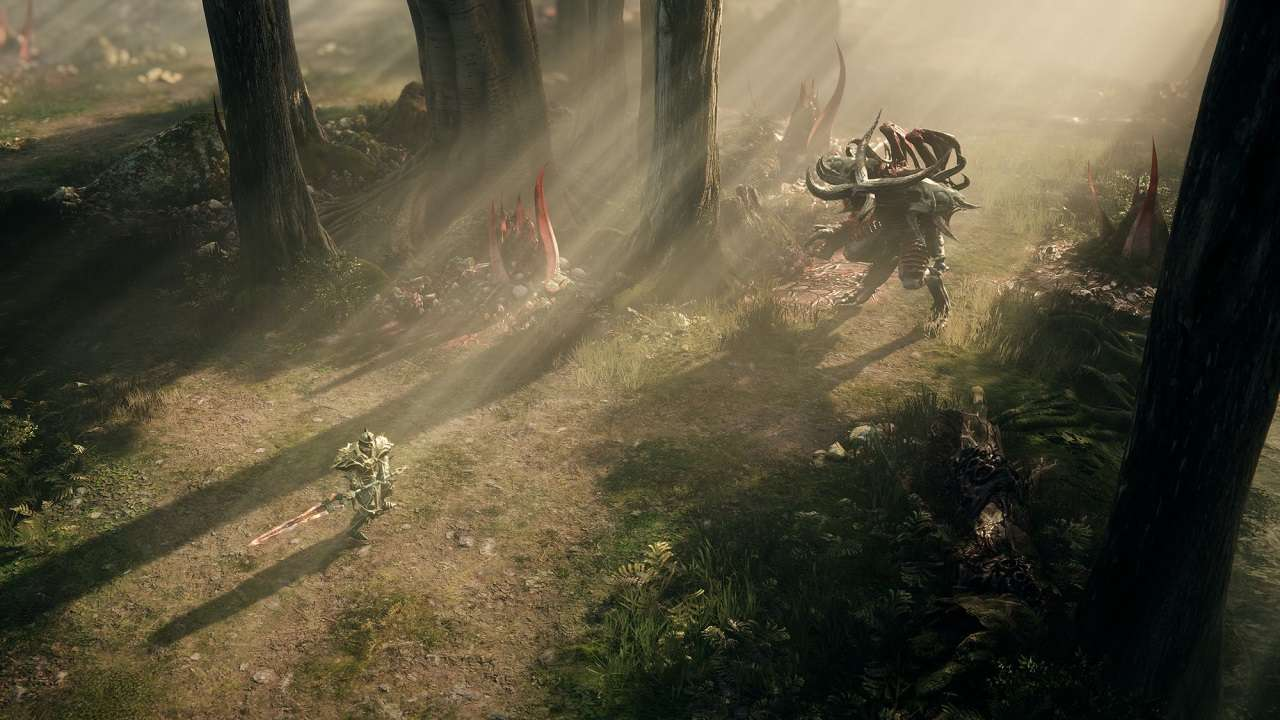 wolcen lords of mayhem fight enemy boss graphic shadows cryengine