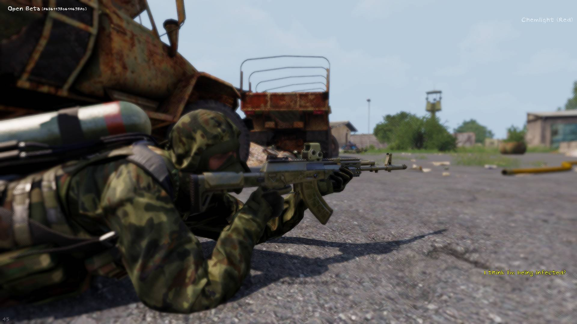 arma 3 survival contaminated zone soldier