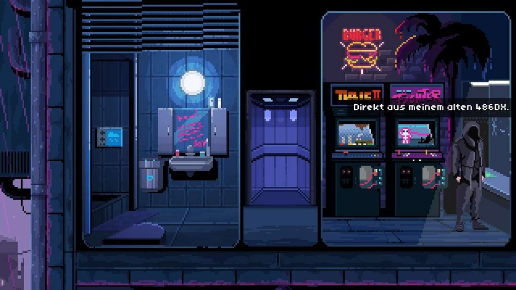 virtuaverse pixelart point and click adventure retro hardware 486dx nathan
