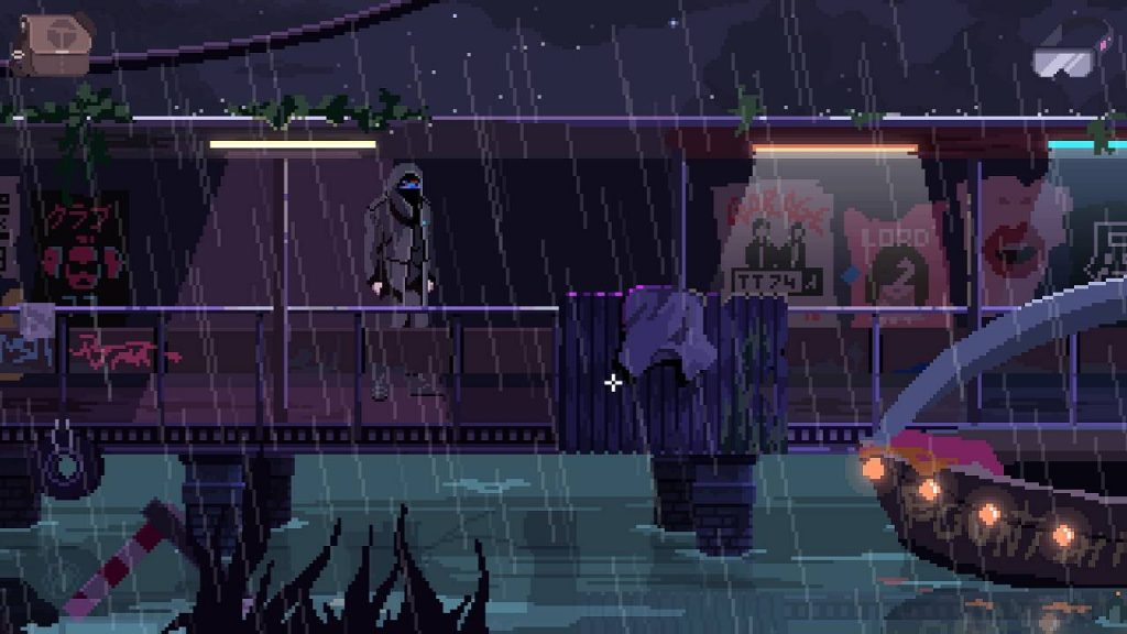 virtuaverse pixelart point and click adventure nathan world cyberpunk