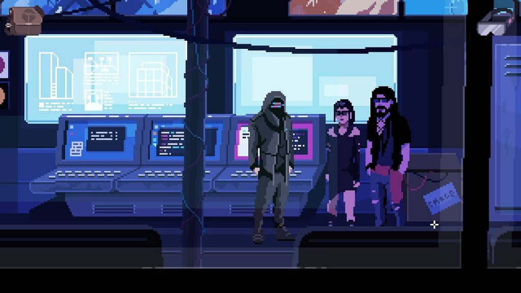 virtuaverse pixelart point and click adventure nathan jay