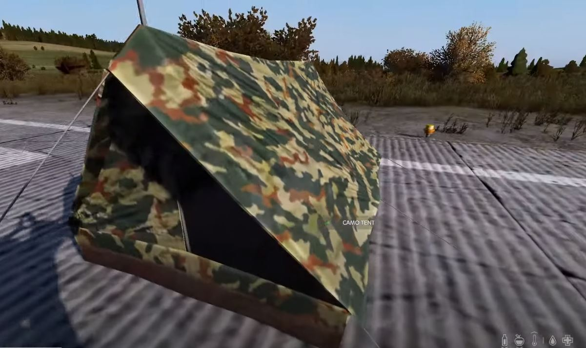 dayz expansion update 1.02 camo tent