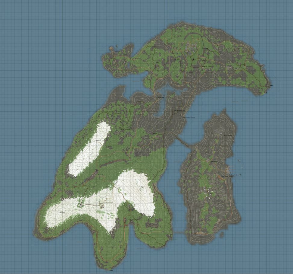 dayz namalsk map