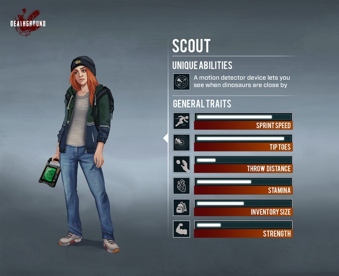 deathground class Scout