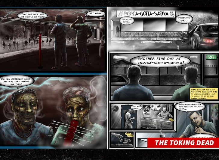 the toking dead comic