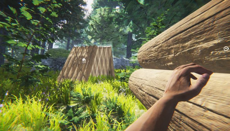 the jungle survival game the forest base building kopie