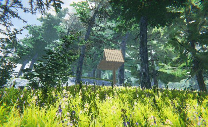 the jungle survival game the forest baumhaus kopie
