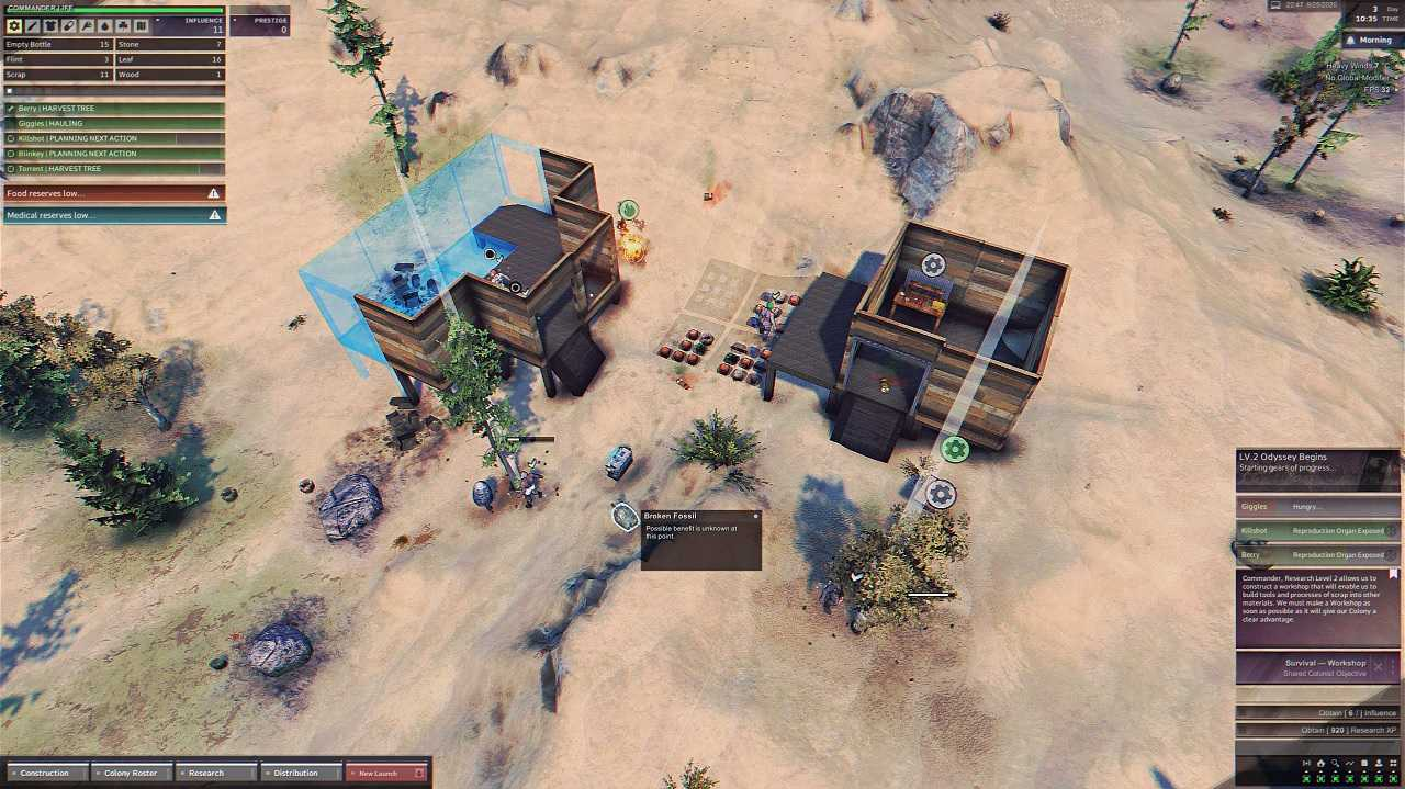 ragnorium preview early access building settlement houses
