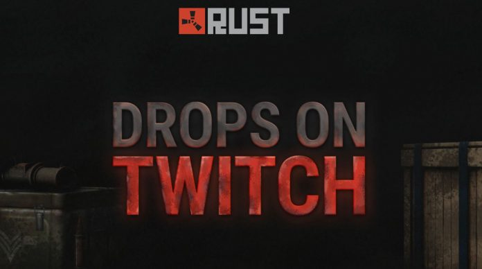 Rust twitch drops 2020 header