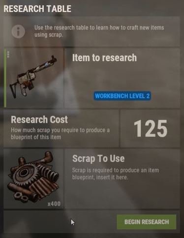 Rust Tech Tree Explained This Is How The Blueprints Work Now