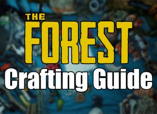 The Forest Crafting-Rezepte