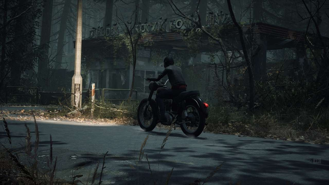 the medium ingame screenshot marianne motorcycle niwa hotel