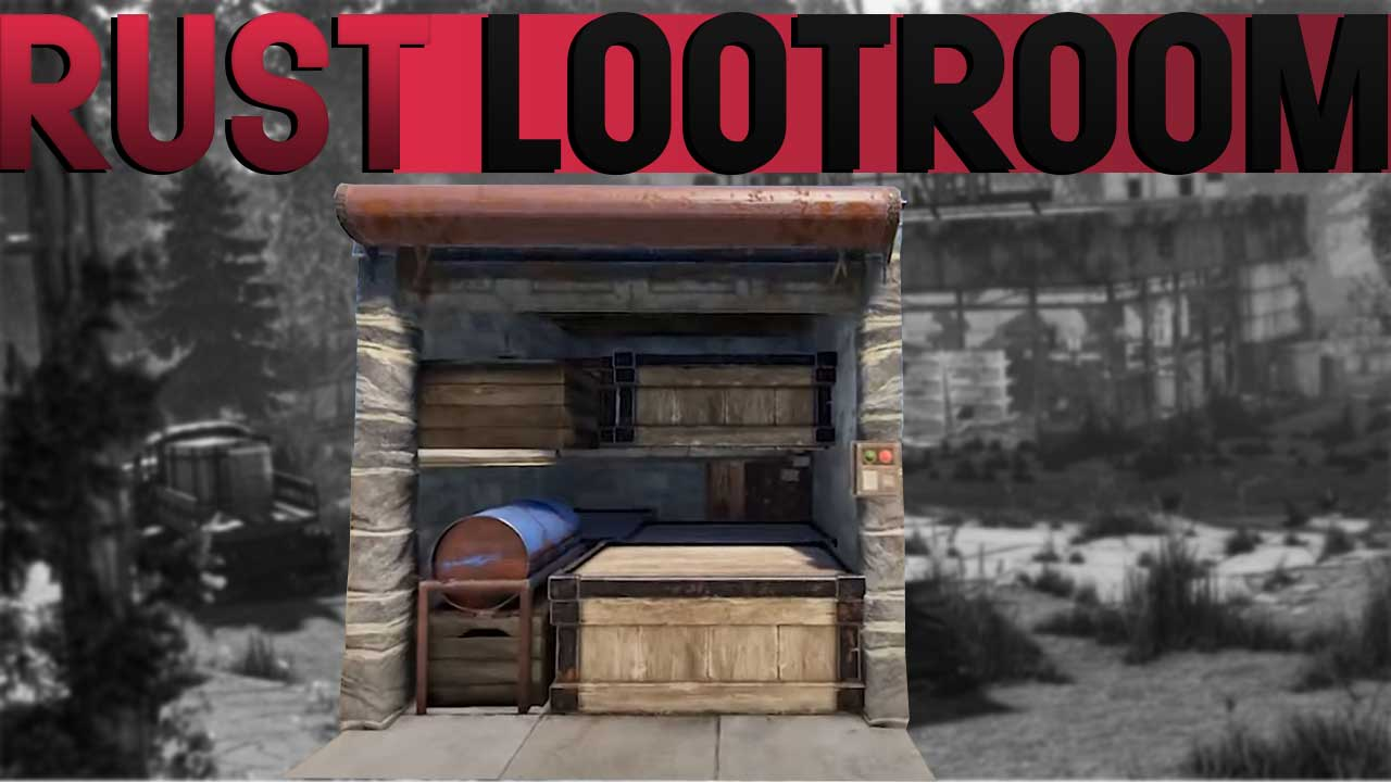 The Best Loot And Tc Room In Rust This Is How You Build It
